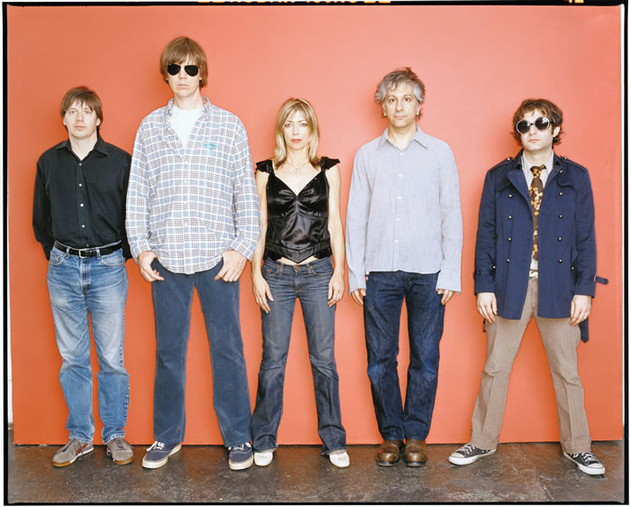 Imagen promocional del grupo Sonic Youth