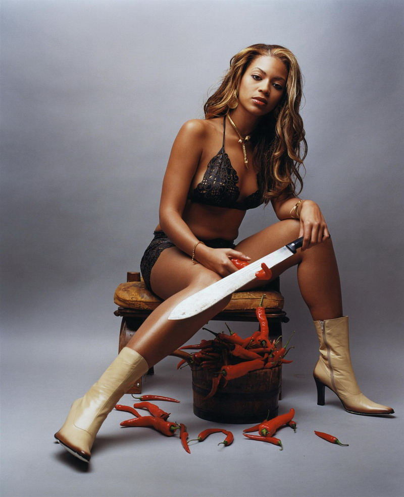 Beyonce hot pepper meat cleaver picture